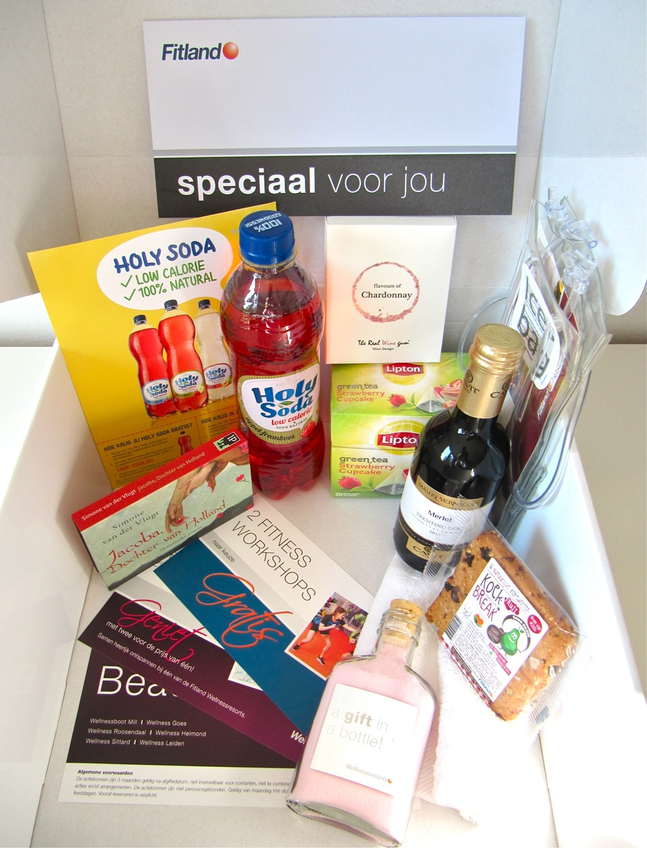 Wellness Surprise Box voor Fitland Hotels Zomerweken 2015