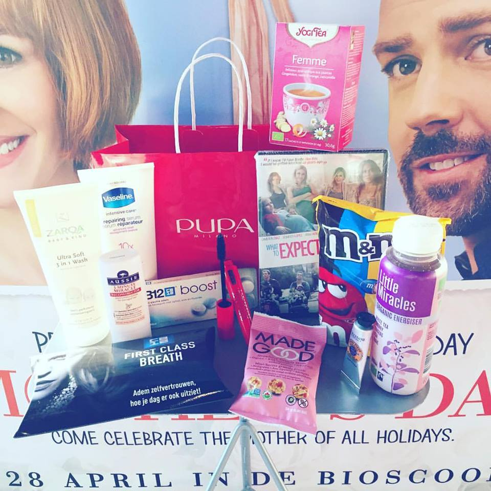 Goodiebags RTL Premiere Mother's Day