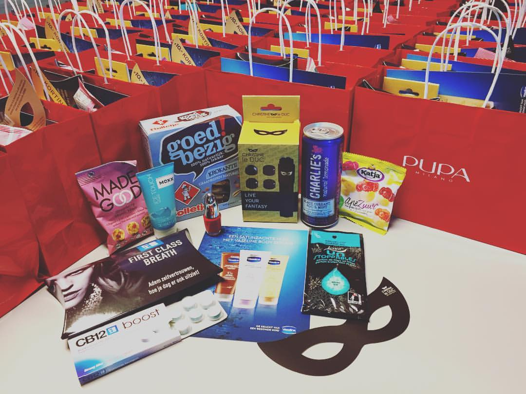 Goodiebags RTL Premiere BAD MOMS