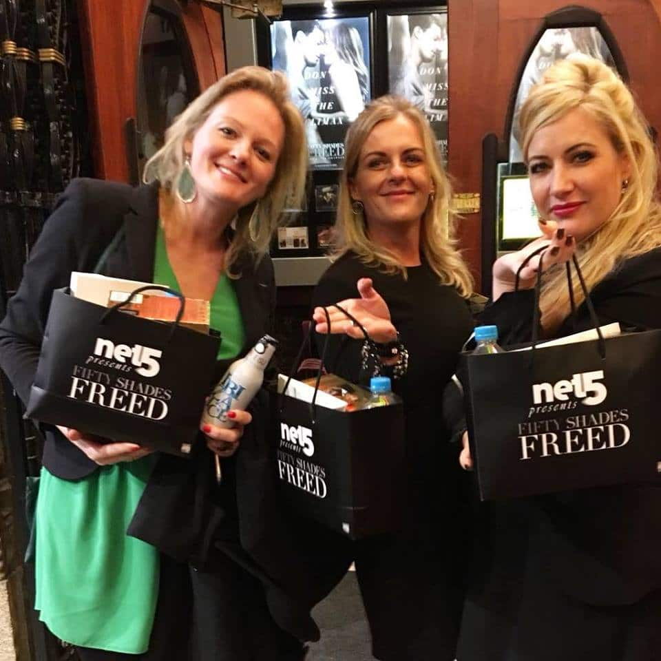 Premiere Goodiebags Fifty Shades Freed